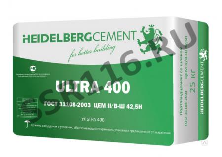 Цемент Heidelbergcement М500 цем II/В-Ш 52.5Н